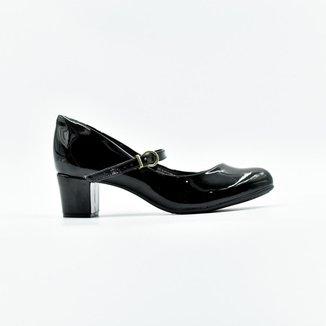 Sapato Beira Rio Boneca Verniz Premium   Feminino