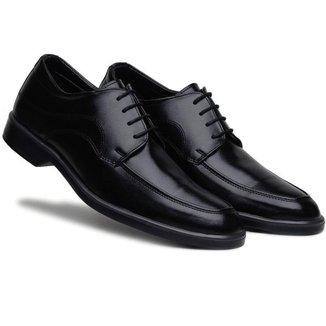 Sapato Bertelli Social Amarração Comfort Masculino
