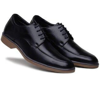 Sapato Bertelli Social Amarração Solado Bicilor Comfort Masculino