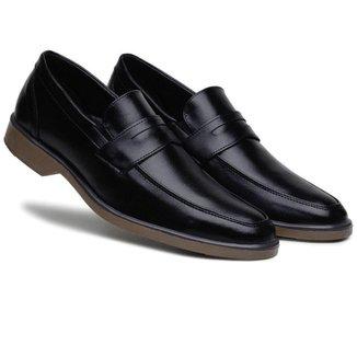 Sapato Bertelli Social Casual Solado Bicolor Conforto Masculino