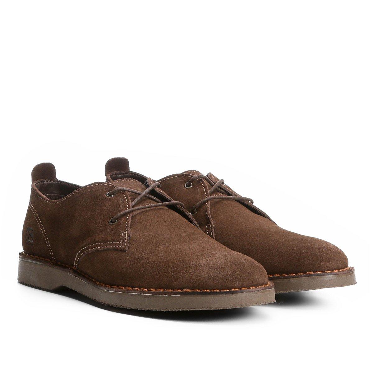428d7874d2 Sapato Casual Kildare Filey Camurça Masculino