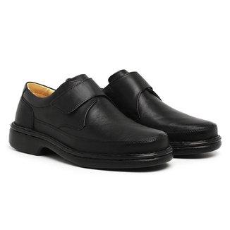 Sapato Casual Masculino Couro Conforto Leve Macio Elegante