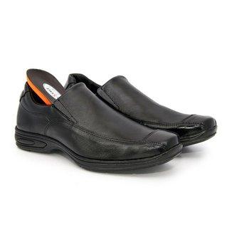 Sapato Casual Premium Couro Comfort Social