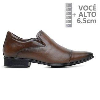 Sapato Com Salto Interno Jota Pe Marrom Air 79510