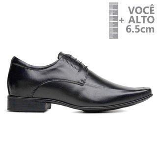 Sapato Com Salto Interno Jota Pe Preto Grow Air 82403