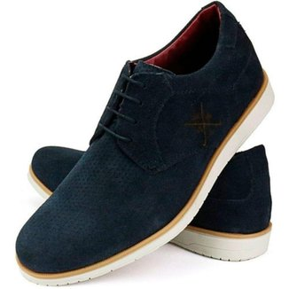 Sapato em Couro A.Andrade Oxford Social Casual Sport Fino