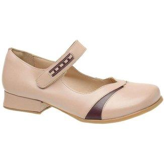 Sapato Estilo Boneca Gasparini 3214 Pele