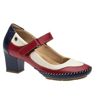 Sapato Feminino em Couro Doctor Shoes