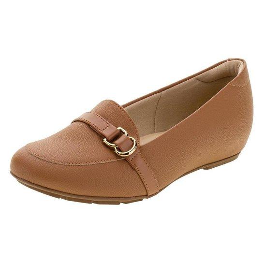 Sapato Feminino Salto Baixo Modare - 7353109 - Caramelo