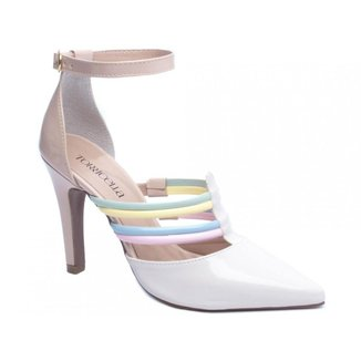 Sapato Feminino Scarpin Salto Alto Confortável Torricella