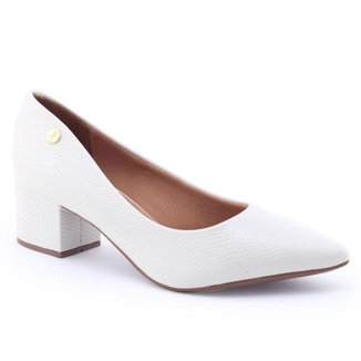Sapato Feminino Vizzano 1220.315 Bico Fino Envernizado