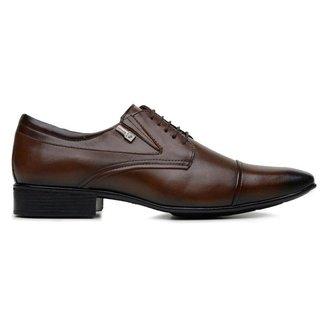Sapato Jota Pe Marrom Couro Air 40115