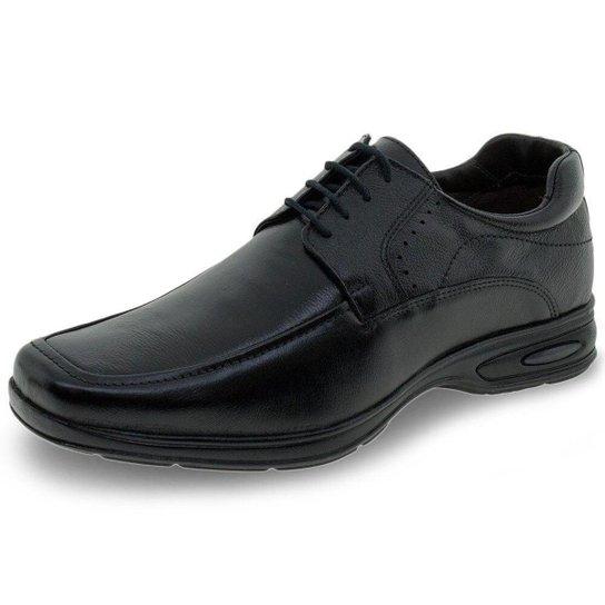 Sapato Masculino Social Mini Floater Talk Flex - 9000 - Preto