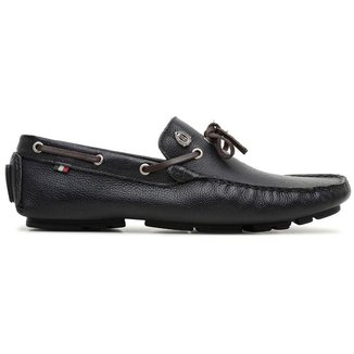 Sapato Mocassim em Couro Masculino Vitara