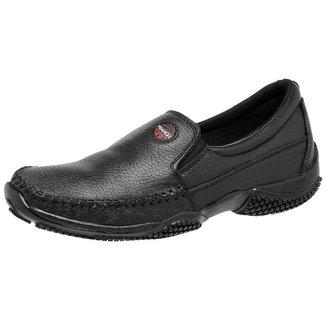 Sapato Mocassim Sapatilha Masculina Tchwm Shoes em Couro