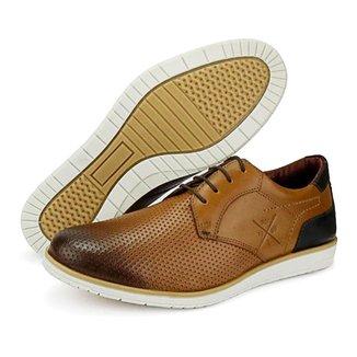 Sapato Oxford   Couro Conforto Tchwm Shoes Masculino
