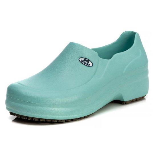 Sapato Profissional Soft Works Antiderrapante Com CA - BB65 - Verde claro