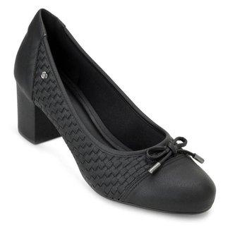 Sapato Salto Bloco Sense Flex