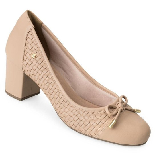 Sapato Sense Flex AN20-0947 - Bege