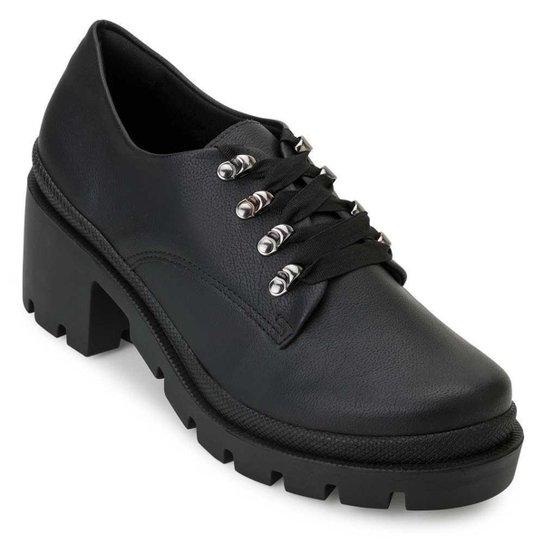 Sapato Sense Flex Feminino - Preto