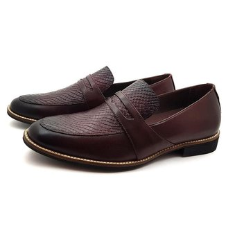 Sapato Social Avalon Wood Masculino