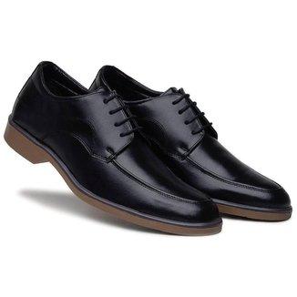 Sapato Social   Conforto Solado Bicolor Masculino
