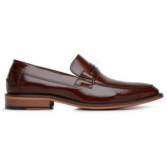 Sapato Social Couro Mouro Premium 24536