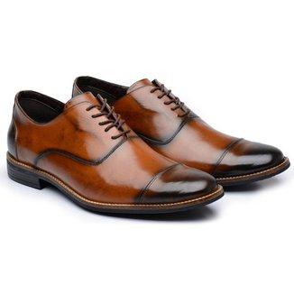 Sapato Social Couro Stefanello York Avalon Masculino