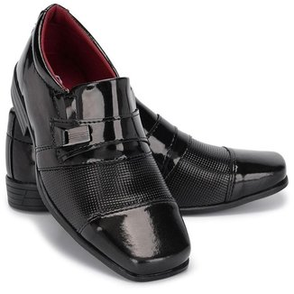 Sapato Social Infantil 444 Em Verniz Pajen Casamento Elegante
