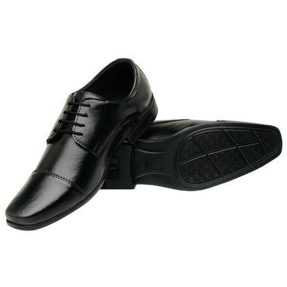 Sapato Social Masculino Lançamento Moderno Confortável Siroco Ref:1010 S.P
