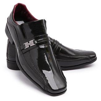 Sapato Social Masculino Verniz Schiareli