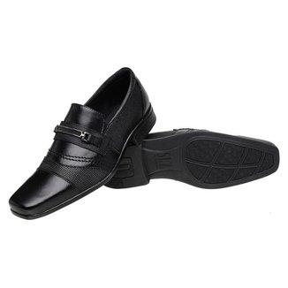 Sapato Social Roma Shoes Social em Couro    Antiderrapante Masculino