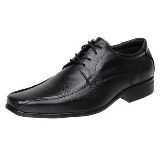 Sapato Social Roma Shoes Social em Couro  Elegante Antiderrapante Masculino