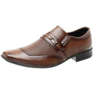 Sapato Social Roma Shoes   Solado Antiderrapante Masculino