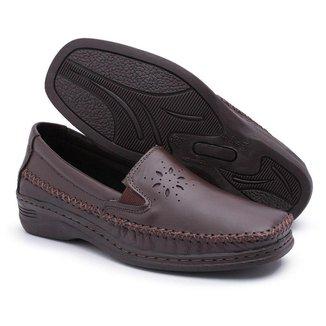 Sapato Torani Ortopédico Feminino Couro