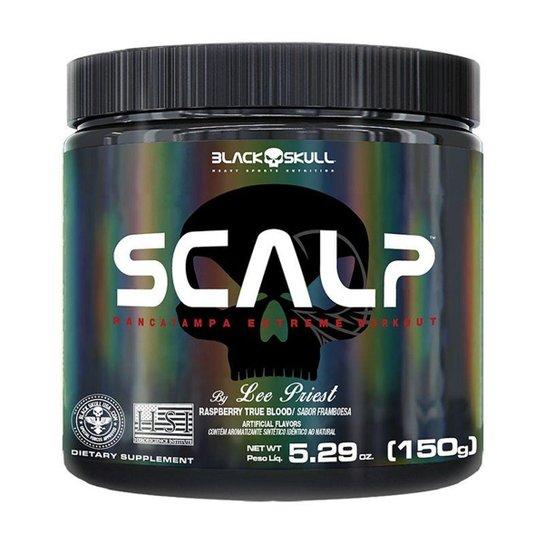 Scalp (Pré-Treino) (150G) Black Skull -