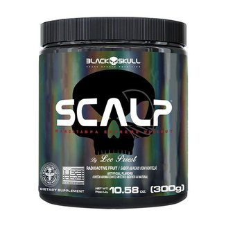 Scalp pré-treino 300gr - Black Skull