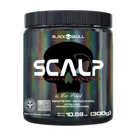 Scalp pré-treino 300gr - Black Skull -