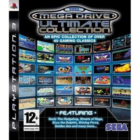 Sega Megadrive Ultimate Collection (Essentials) - PS3 - Incolor