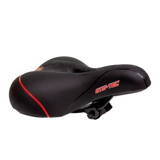 Selim Bike MTB Confortável GTS Tec - Vermelho