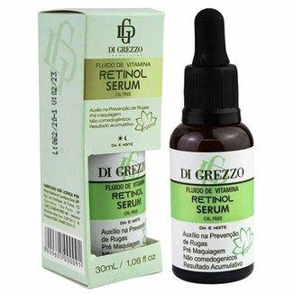 Sérum Facial Vegano Retinol 30ml - Fluido de Vitaminas - Di Grezzo
