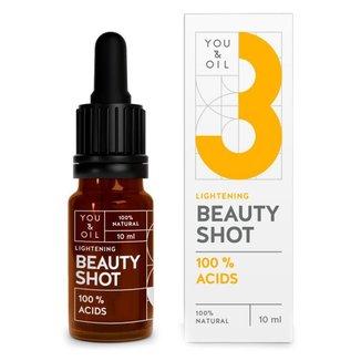 Sérum Facial You & Oil – 3 Lightening Beauty Shot Pele de Porcelana 10ml