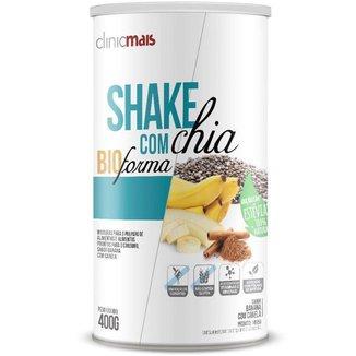 Shake com chia Chá Mais 400g Banana com Canela