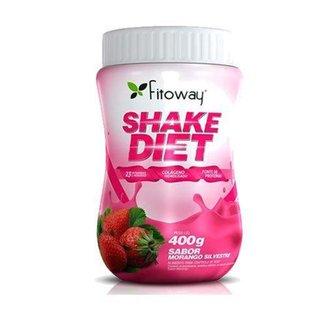 Shake Diet - 400g Morango Silvestre - Fitoway