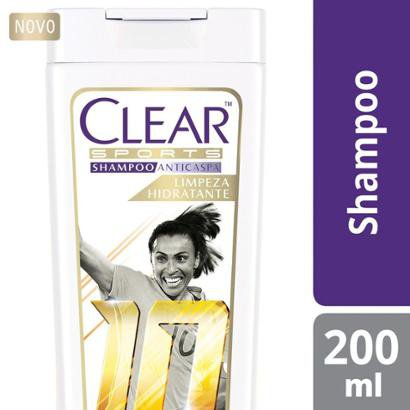 Shampoo Anticaspa Clear Women Alívio da Coceira 200ml