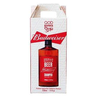 Shampoo Budweiser 220 ml - QOD Barber Shop