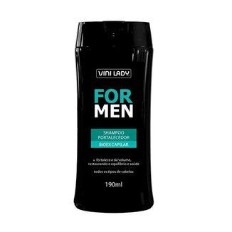 Shampoo Fortalecedor For Men Bioex Capilar 190ml Vini Lady