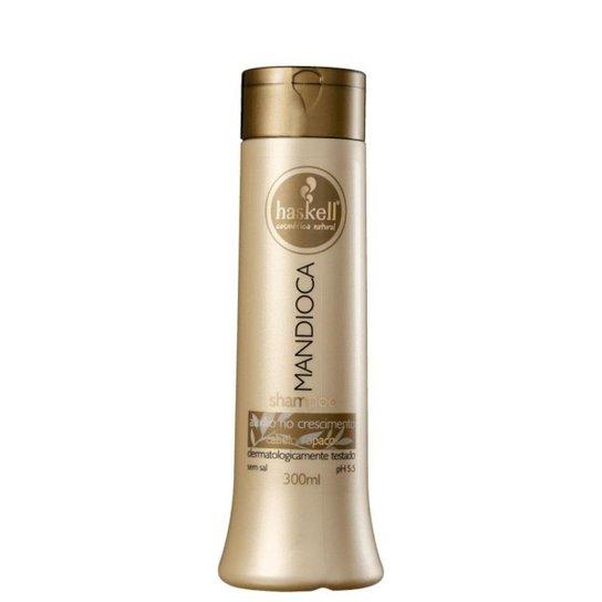 Shampoo Haskell Mandioca 300ml - Incolor