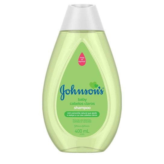 Shampoo Johnson's Baby Cabelos Claros 400ml - Única