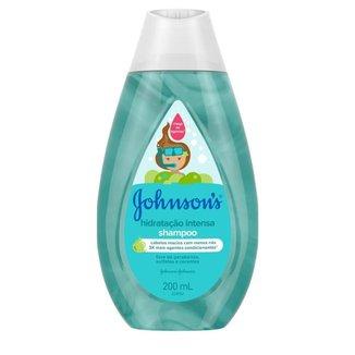 Shampoo Johnson's Hidratação Intensa 200mL